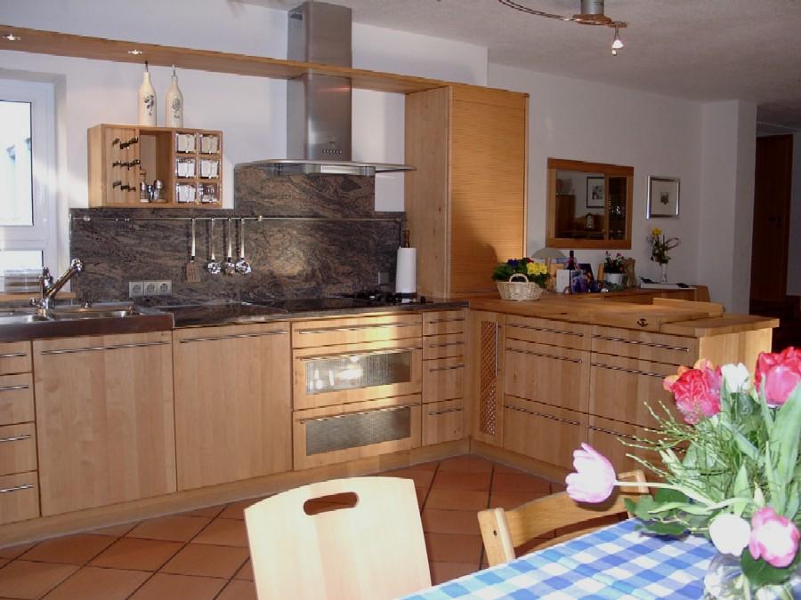 Holzküchen erle  Unsere Küchen
